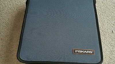 Fiskars craft storage carry bag withadjustable compartments for tools stamps etc