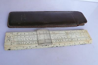 Aristo Rietz Vintage Pocket Slide Rule Nr 89 Germany with case