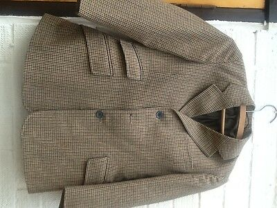 TWEED SADDLEMASTER JACKET 30 chest