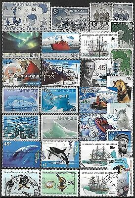 Australian Antarctic Territory Commercially Used Selection $101.05 SCV