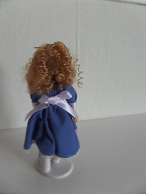 12th scale little  Victorian style girl doll house doll