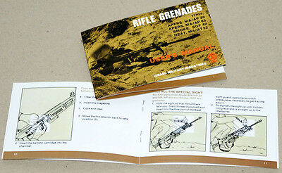 1 User's Manual RIFLE GRENADES for GALIL Rifle, as on 2 pictures