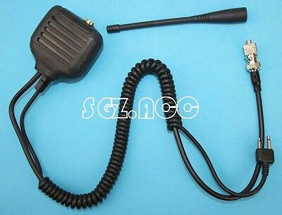 Hand held Mic with Speaker & Antenna for Icom Radio IC-F4062 IC-E90 IC-E91 IC-M2
