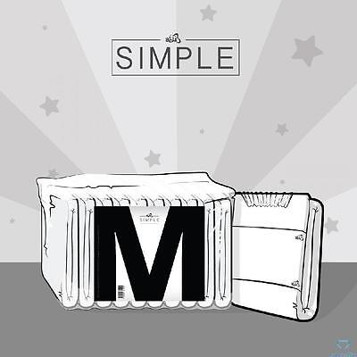 ABU Simple Adult Nappies/Diapers Medium - Pack of 10