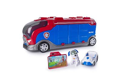 Paw Patrol Paw Patroller MISSION CRUISER TRANSPORTER with ROBO DOG + Vehicle NEW