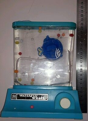 Vintage Tomy Waterful Whale toy water game Waterfall Waterfal Waterfull