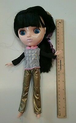 Little Big Eyes Fake Blythe clone toy girl doll in clothes Flawed
