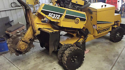 Stump Grinder/sc 372 45Hp Diesel Hydraulic $35,000