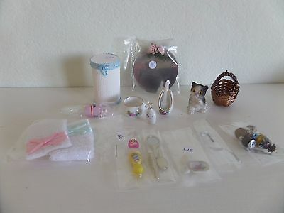 12 th  scale  job lot (5) dolls house mixed items