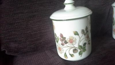 BHS Autumn Leaves Storage Lidded Jar - Very Good Used Condition