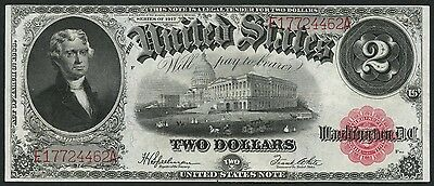 Fr60 $2.00 1917 Series Legal Tender Speelman / White -- Au -- Bt6319