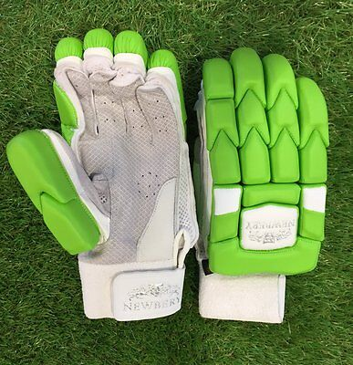 2017 Newbery Kudos Green Batting Gloves Size Mens Right Hand
