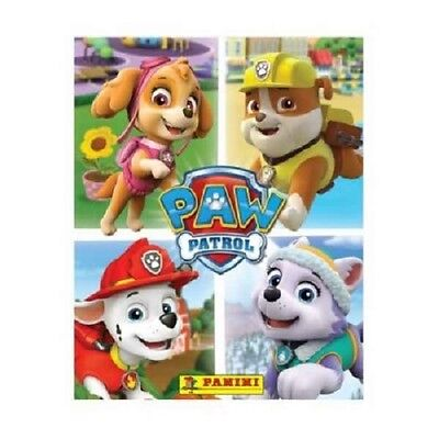10x Panini Nickelodeon's Paw Patrol A Year Of Adventures Collection Sticker Pack