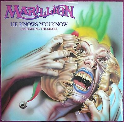 "Marillion – He Knows You Know 12"" – 12 EMI 5362 – VG"