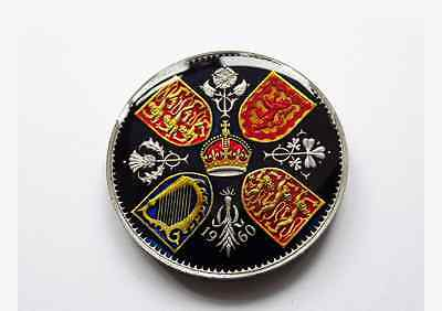 Enamelled Coin 1960 Crown