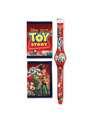 Official Disney Pixar Toy Story Analogue Watch And Wallet  Gift Accessories New