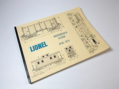 Lionel Refrence Guide 1946-1974 HO Model Railroad &Trains Hobby Books