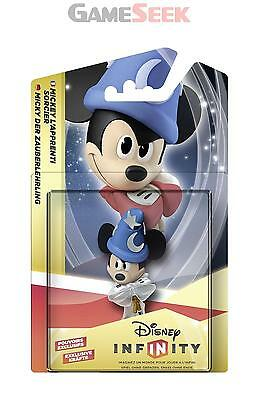 Disney Infinity 2.0 Originals Sorcerers Apprentice Mickey (Crystal) - Brand New