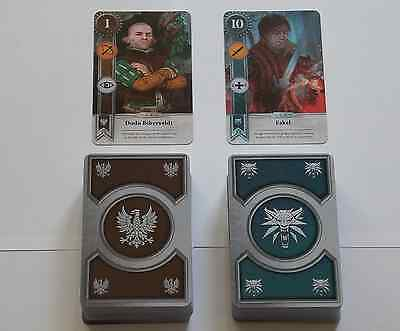 GWENT CARDS (2 NEW FAN MADE DECKS) 151 CARDS Witcher 3 Wild Hunt (ENG EDITION)
