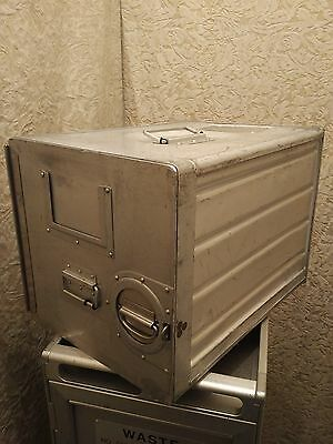 Aircraft Airline Galley Box/Airline Catering Container/ATLAS Canister Aluminium