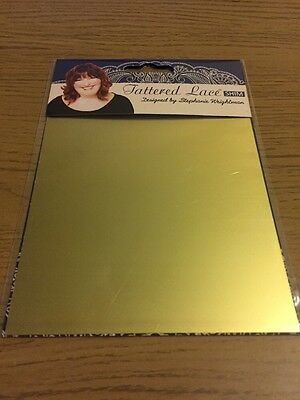 Tattered Lace Metal Shim Cutting Plate Embossing Mat Craft Assorted