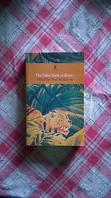 The Faber Book of Beasts Paperback Book