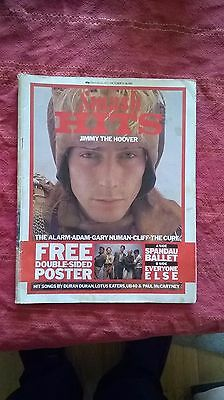 smash hits pop mag jimmy the hoover alarm gary numan the cure