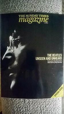 sunday times mag the beatles unseen and unheard