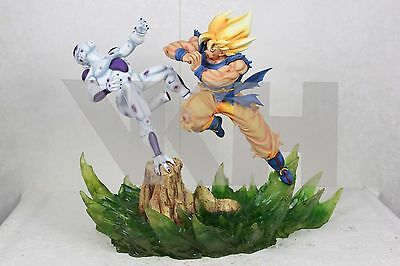 DRAGON BALL Z GOKU GOKOU SS vs FREEZA RESIN FIGURE STATUE FIGURE NEW