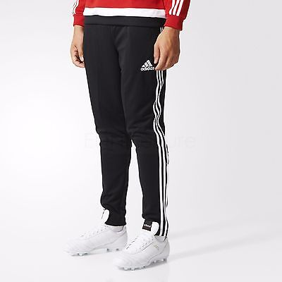 Adidas Boys Tiro Pants Black Junior Kids Football Training Bottoms Track Age5-14