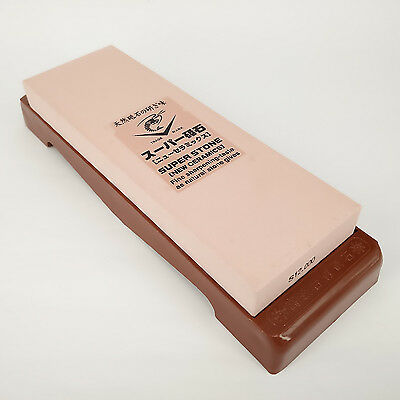 Naniwa #12000 IN-2291 Extra Thick Super Stone Sharpening Stone with Stand