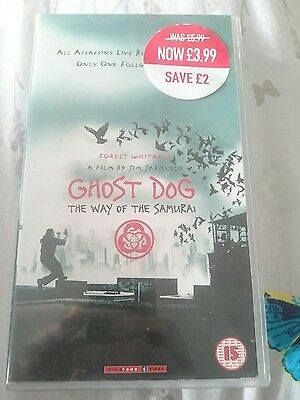 Ghost dog -the way of the samurai video vhs