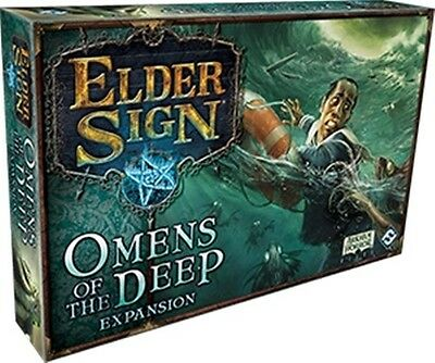 Elder Sign Dice Game: Omens Of The Deep Expansion