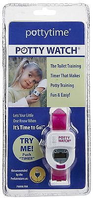 Potty Time - Potty Watch, Baby Watch bathroom Reminder for Kids (Pink)