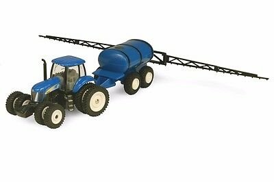 New Holland T8050 Series Tractor 2007 With Sprayer Diecast Scale 1/64 New