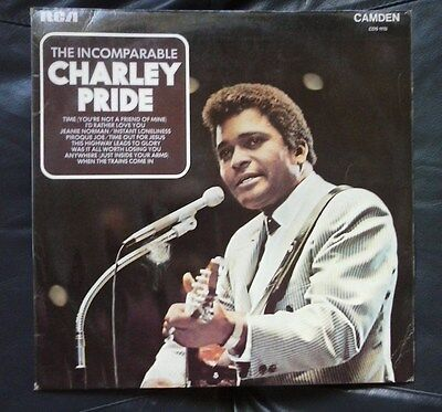 """Charley Pride """"The Incomparable..."""" Vinyl LP (12-Inch ) 33 RPM"""