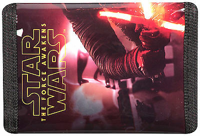 Official Star Wars The Force Awakens Boys Trifold Money Change Notes Wallet New