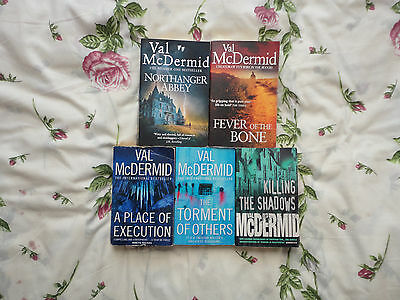 Val Mcdermid---5 Thick Paperback Books