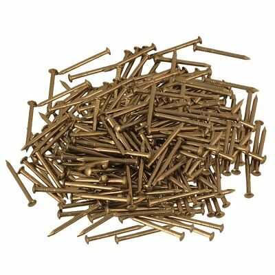 500pcs 18mm Round Head Antique Pure Copper Furniture Miniature Nail