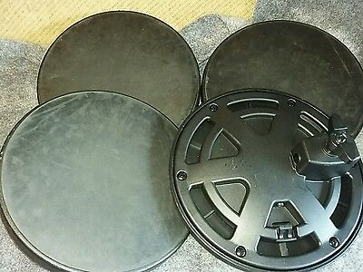 4 x electric drum pads, smaller, hard type