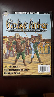Primitive Archer Magazine -Bowhunting. Back issue. Winter 2005