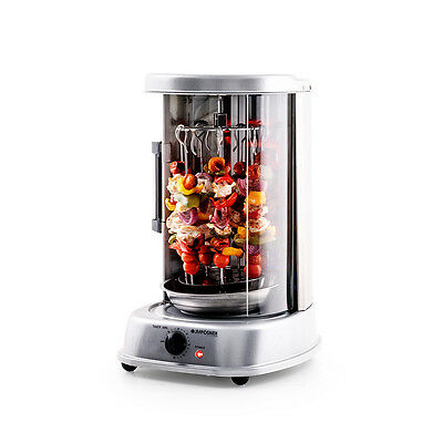 New Kebab Grill Rotisserie Oven BBQ - Vertical Kebab Machine For Meat & Veg