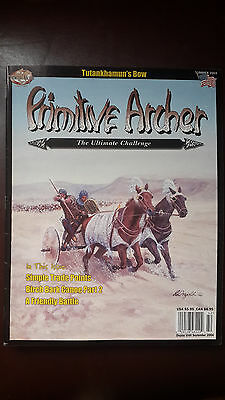 Primitive Archer Magazine -Bowhunting. Back issue. Summer 2004
