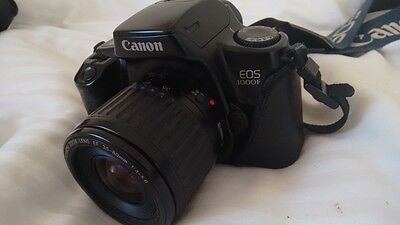 Canon EOS 1000F 35mm SLR Film Camera with 35-80mm lens Kit Vintage analog