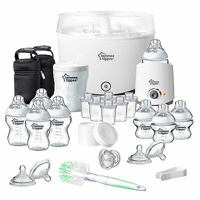 Tommee Tippee Baby Feeding Set Closer to Nature COMPLETE Starter Kit NewBorn