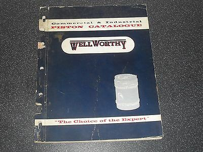 Old Wellworthy Piston Catalogue Commercial Industrial Engines