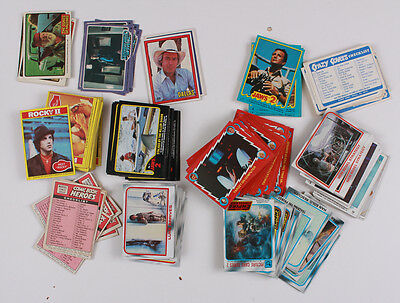 250 Card Non-Sport Card Collection Jaws,rockyii,empire Strikes,saturday Night Fe