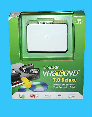 Honestech Vhs To Dvd 7.0 Deluxe (Pc) Rrp £49.99