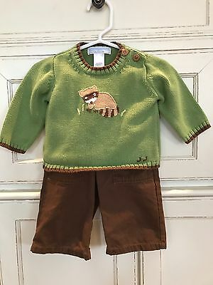 Baby Boy 2 piece Janie and Jack Outfit - Size 3-6 months