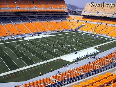 (2) Steelers vs Browns Tickets Upper Level Under Cover!!